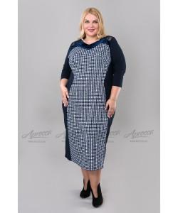Платье PP00806DBL02 цвет т.синий
