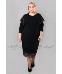 Платье PP01803BLK36 цвет черный