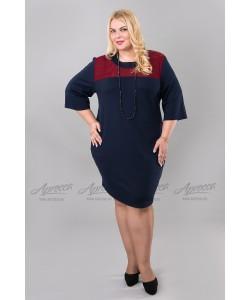 Платье PP02006DBL27 цвет синий