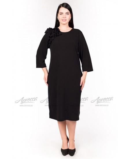 Платье PP02106BLK00 цвет черный
