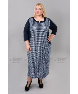 Платье PP15006DBL02 цвет т.синий