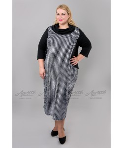 Платье PP15106BLK02 цвет черный