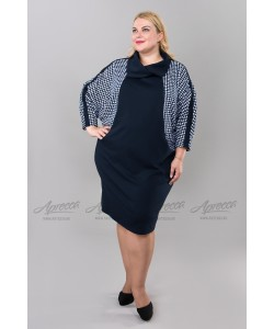 Платье PP18406DBL02 цвет т.синий