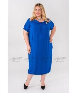 Платье PP204 03 BL 03 цвет василек