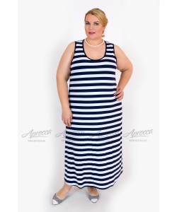 Сарафан SA21603STR05 цвет синяя полоска