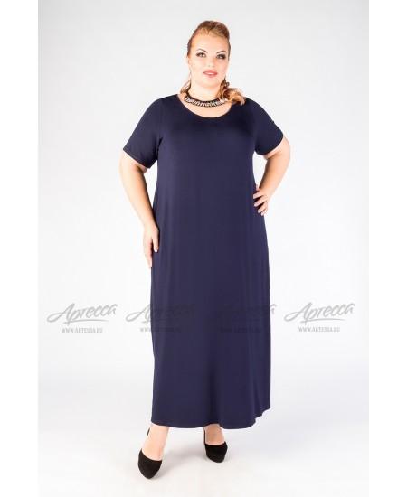 Платье PP218 03 DB цвет синий