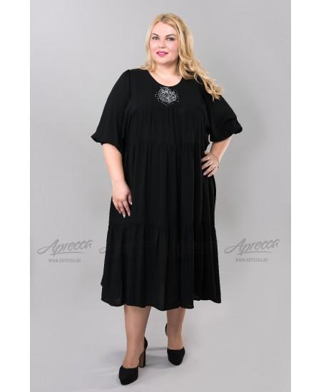 Платье PP228.04 BLK цвет черный