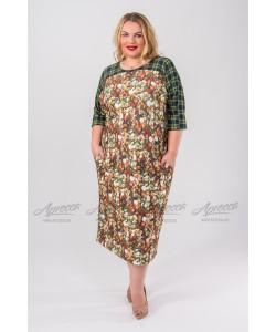 Платье PP240 03 FLW цвет цветочный принт