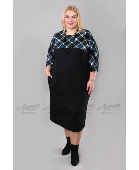 Платье PP24006BLK00 цвет черный