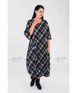 Платье PP24606BLK20 цвет клетка