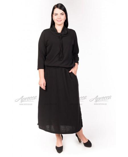 Платье PP27406BLK00 цвет черный