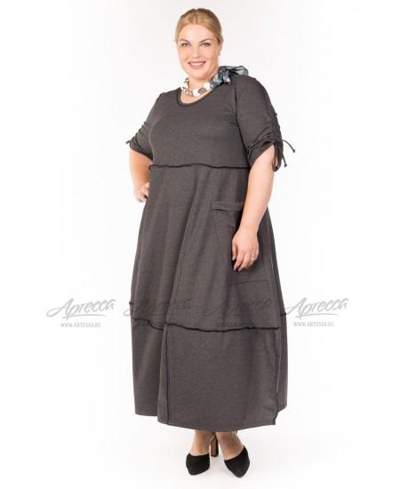 Платье PP30502GRY22 цвет серый