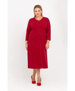 """Платье """"Ева"""" цвет красный"""