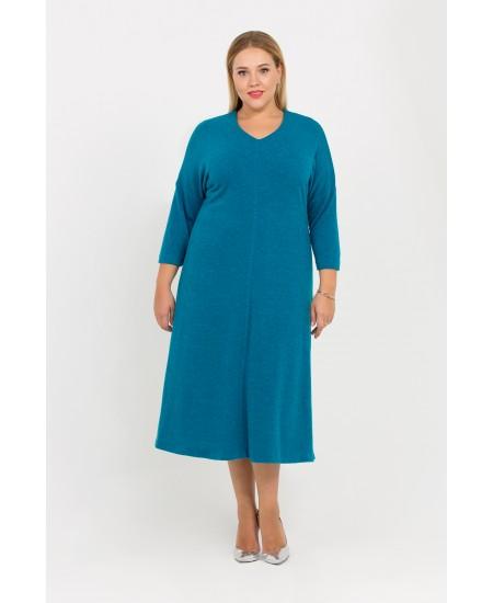 """Платье """"Ева"""" цвет синий"""