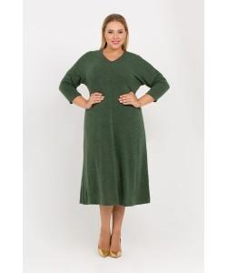 """Платье """"Ева"""" цвет зеленый"""
