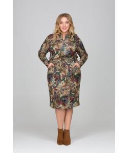 "Платье ""Роксана"" цвет  мультицвет"
