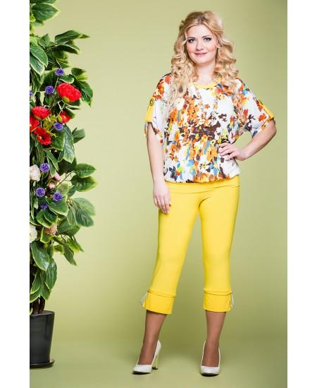"""Блуза """"Кристина"""" цвет желтый"""