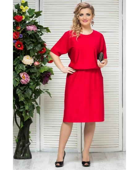"""Платье """"Бэлла"""" цвет красный"""