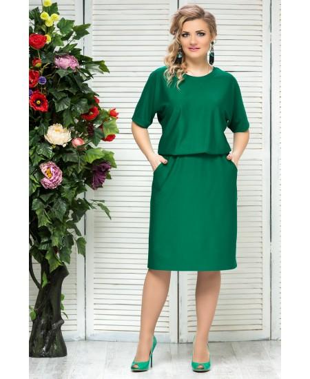 """Платье """"Бэлла"""" цвет зеленый"""