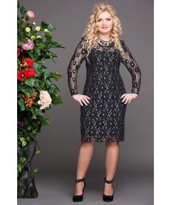"""Платье """"Богиня""""  цвет черный"""