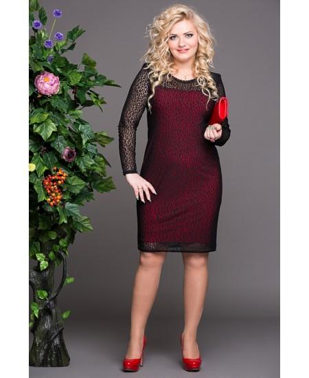 """Платье """"Богиня""""  цвет красный"""