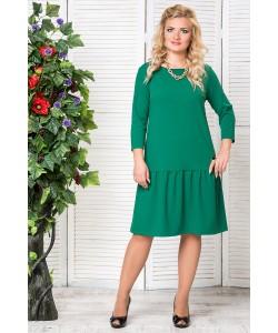 """Платье """"Есения""""  цвет зеленый"""