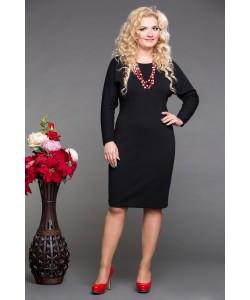 """Платье """"Лиза""""  цвет черный"""