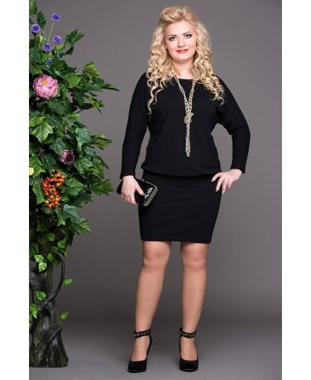 """Платье """"Мадонна""""  цвет черный"""