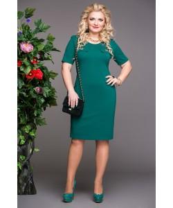 """Платье """"Николь"""" цвет зеленый"""