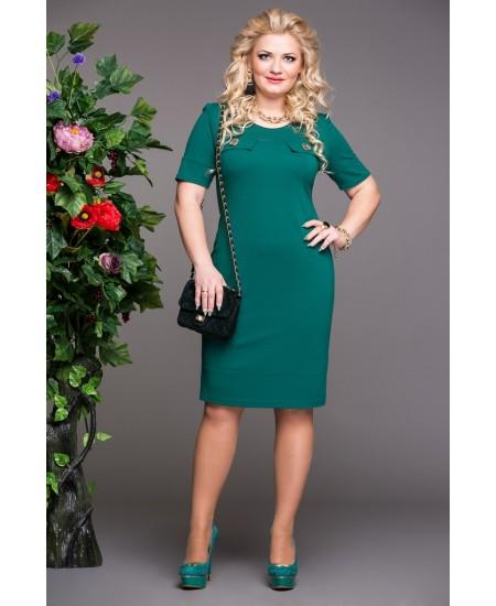 """Платье """"Николь"""",  цвет зеленый"""