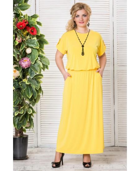 """Платье """"Прованс""""  цвет  желтый"""