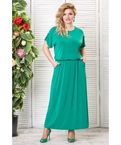 """Платье """"Прованс""""  цвет  зеленый"""