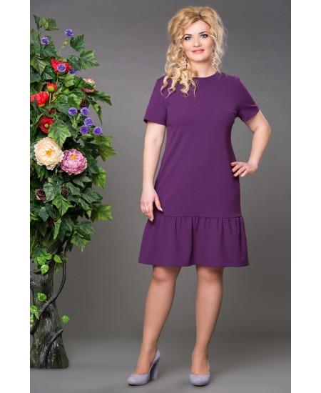 """Платье """"Рыбка """" цвет  фиолет"""