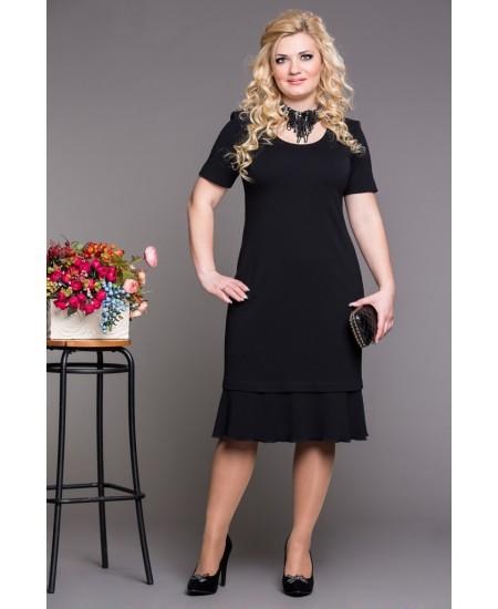 """Платье """"Скарлет""""  цвет черный"""