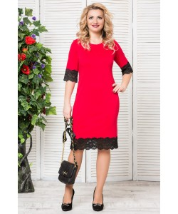 3437db6708a Купить женские кружевные платья больших размеров женщин в интернет ...