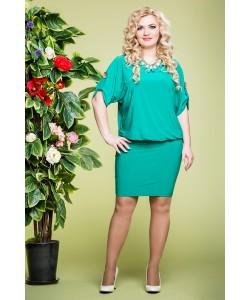 """Платье """"Виктория """" цвет зеленый"""