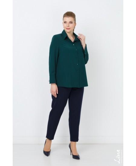 """Блуза """"Арона"""" цвет зеленый"""