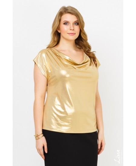 """Блуза """"Асти"""" цвет золото"""