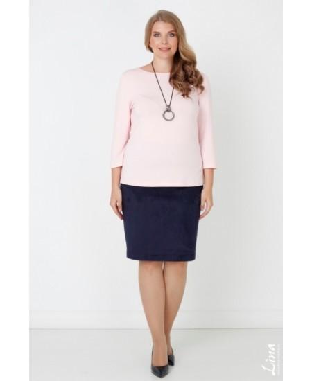 """Блуза  """"Лаура"""" цвет розовый"""
