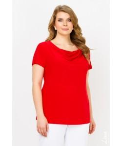 """Блуза  """"Мила"""" цвет красный"""