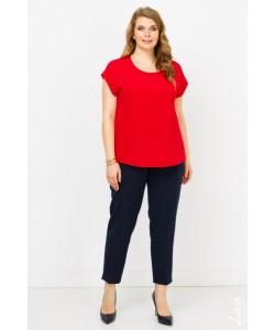 """Блуза  """"Юта"""" цвет красный"""