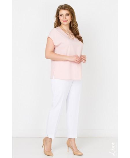 """Блуза  """"Юта"""" цвет розовый"""