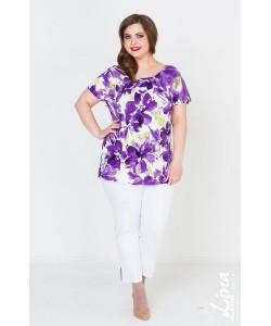 """Блуза  """"Вдохновение"""" цвет сирень"""