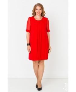"""Платье """"Анита"""" цвет красный"""