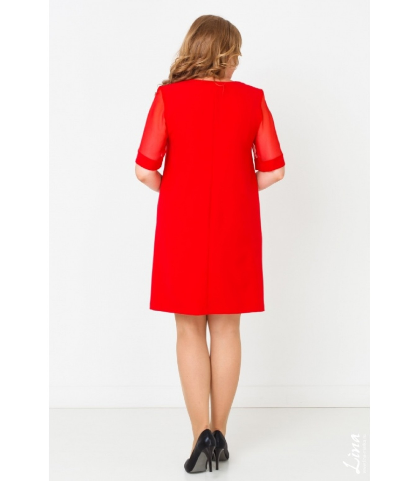 Платья красный