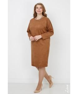 "Платье ""Александра"" цвет коричневый"