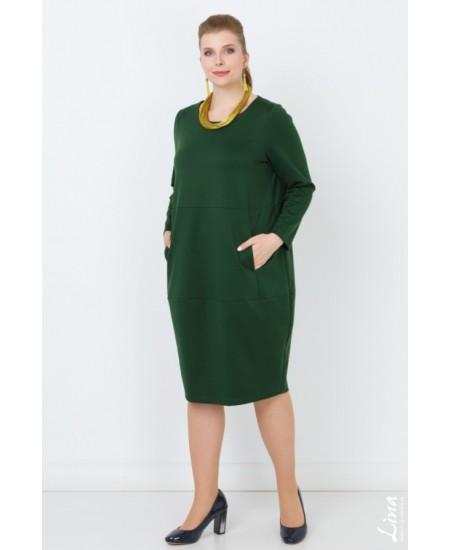 """Платье """"Богдана"""" цвет оливковый"""