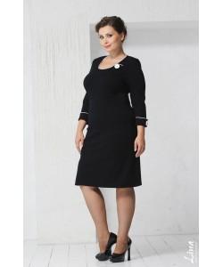 """Платье """"Кант"""" цвет черно-белый"""