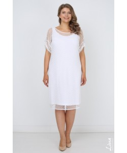 "Платье ""Крит"" цвет белый"