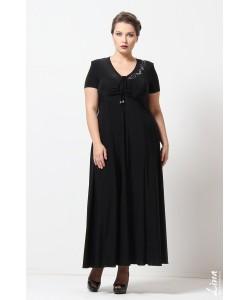 """Платье """"Ксения"""" цвет черный"""